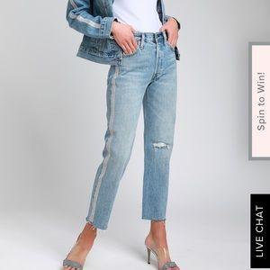 Levi's Rhinestone 501 Jeans